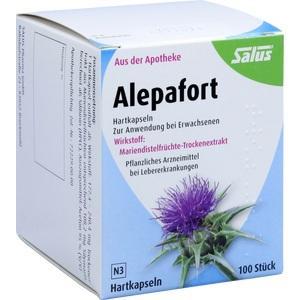 Alepafort Mariendistel Kapseln Preisvergleich