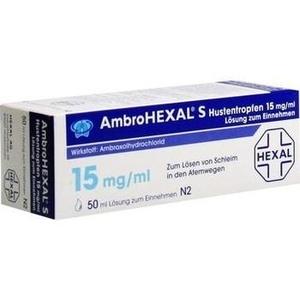 Ambrohexal S Hustentropfen 15mg-ml Preisvergleich