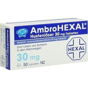 Ambrohexal Hustenlöser 30 mg Filmtabletten Preisvergleich