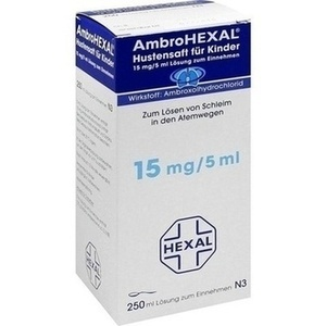 Ambrohexal Hustensaft für Kinder Preisvergleich
