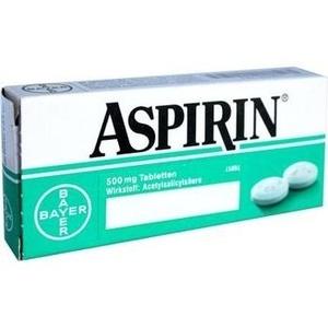 Aspirin Preisvergleich