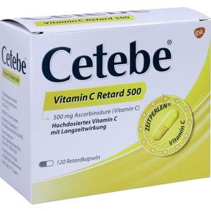 Cetebe Vitamin C Retard500 Preisvergleich