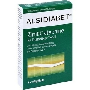 Alsidiabet Zimt Catechine F.diab.typ Ii Kapseln Preisvergleich