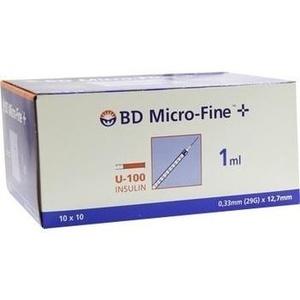 B-d Micro Fine+ U 100 Insulin Spritze 12