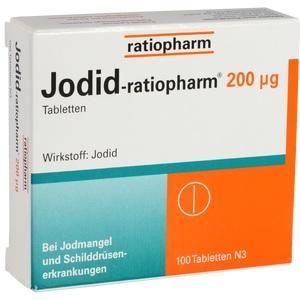 Jodid Ratiopharm 200 µg Tabl.