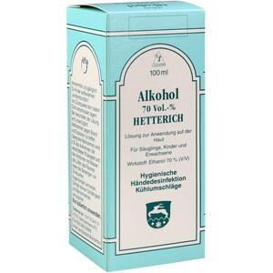 Alkohol 70 Vol % Hetterich Preisvergleich