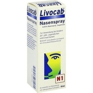 Livocab Nasenspray Preisvergleich
