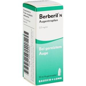 Berberil N Augentropfen Preisvergleich