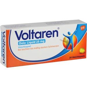 VOLTAREN Dolo Liquid 25 mg Weichkapseln 20 St