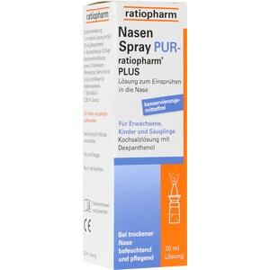 Nasenspray Pur Ratiopharm Plus Preisvergleich