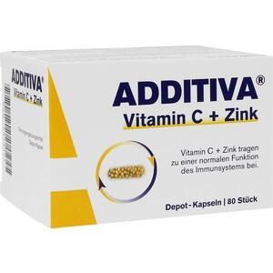 ADDITIVA Vitamin C+Zink Depotkaps.Aktionspackung Preisvergleich