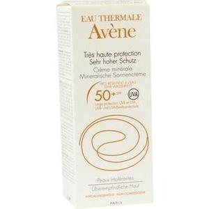 Avene Sonnencreme Spf 50+ Mineralisch 2010 Preisvergleich