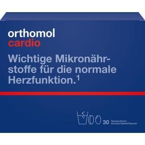 ORTHOMOL Cardio Granulat + Kapseln 30 Kombipckg.