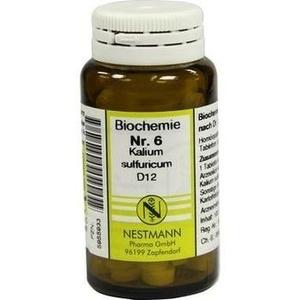 BIOCHEMIE   6 Kalium Sulfuricum D  Schüßler Salze Nestmann Schüßler Salze Nest Preisvergleich