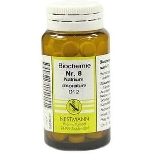 BIOCHEMIE   8 Natrium Chloratum D  Schüßler Salze Nestmann Schüßler Salze Nest Preisvergleich