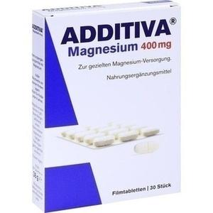 ADDITIVA Magnesium 400 mg Filmtabl. Preisvergleich