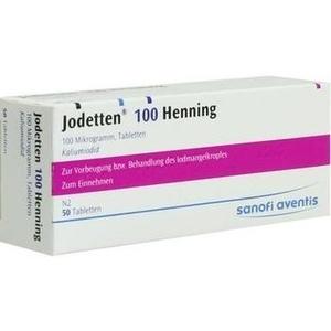 Jodetten 100 Henning Preisvergleich