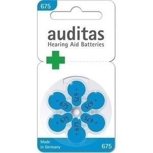 AUDITAS Hoergeraetebatterien 675 Preisvergleich