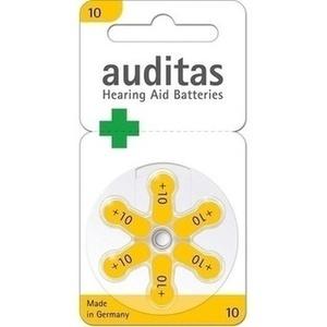 AUDITAS Hörgerätebatterien 10 6 St Preisvergleich