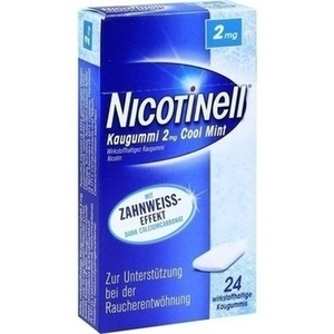 NICOTINELL Kaugummi Cool Mint 2 mg Preisvergleich