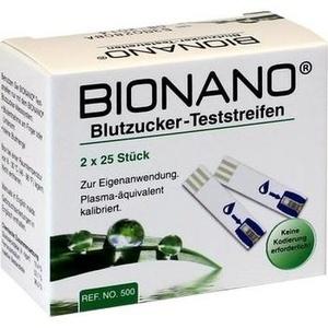 BIONANO Blutzucker Teststreifen Preisvergleich