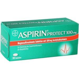 ASPIRIN PROTECT 100 mg Tabl. magensaftr. Preisvergleich