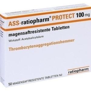 ASS RATIOPHARM Protect 100 mg Tbl.mag.s.r. Preisvergleich