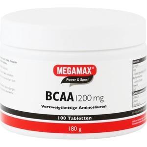 BCAA 1200 mg Megamax Tabl. Preisvergleich