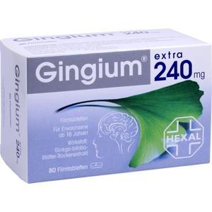 GINGIUM extra 240 mg Filmtabl. Preisvergleich