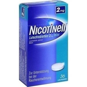 NICOTINELL Lutschtabletten 2 mg Mint Preisvergleich