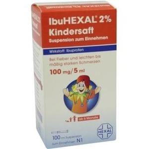 Ibuhexal 2% Kindersaft Susp.z.einnehmen Preisvergleich