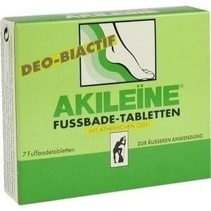 Akileine Deo Biactif Bade Tabletten Preisvergleich
