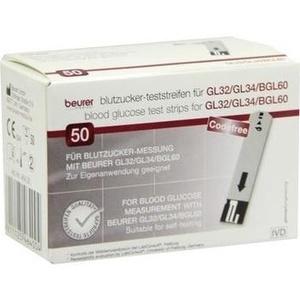 Beurer Gl32-gl34-bgl60 Blutzuckerteststreifen Preisvergleich