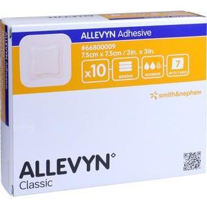ALLEVYN Adhesive 7,5x7,5cm Hydrozell.Verband Preisvergleich