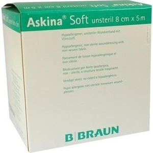 Askina Soft Wundverband 5mx8cm Unsteril Preisvergleich