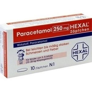 Paracetamol 250 Hexal Zaep Preisvergleich