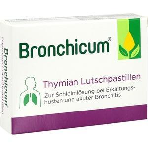 BRONCHICUM Thymian Lutschpastillen 20 St Preisvergleich