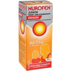 Nurofen Junior Fieb.+schmerzsaft Erdbeer 40mg/ml Preisvergleich