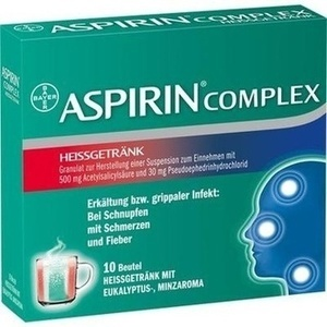 ASPIRIN COMPLEX Heissgetraenk Btl. Preisvergleich