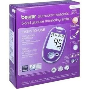 Beurer Blutzuckermessgerät GL 44 mg-dl l Preisvergleich