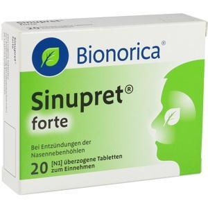 Sinupret Forte Dra Bionori Preisvergleich