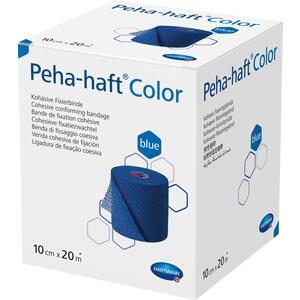 PEHA HAFT Color Fixierbinde latexf.10cmx20m blau