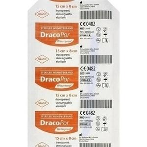 DRACOPOR waterproof Wundverband steril 15x8cm Preisvergleich