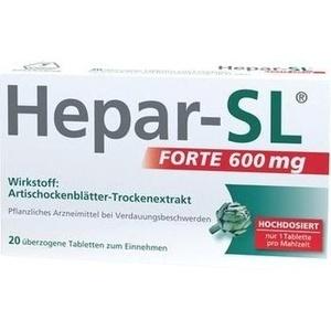 Hepar Sl Forte 600 Mg Tabl.ueberzogen