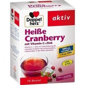DOPPELHERZ Heisse Cranberry m.Vit.C+Zink Gran. Preisvergleich