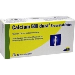 CALCIUM 500 dura Brausetabletten Preisvergleich