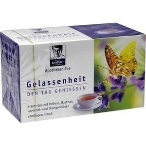 BADERS Apotheken Tee Gelassenheit Filterbeutel Preisvergleich