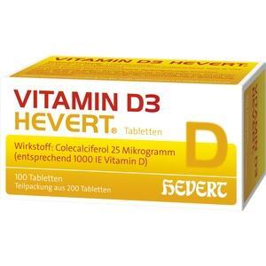 VITAMIN D3 Hevert Tabletten Preisvergleich