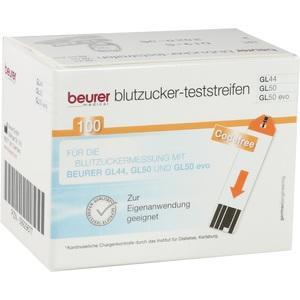 BEURER GL44-GL50 Blutzucker-Teststreifen Preisvergleich