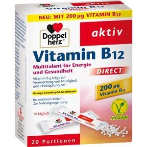 DOPPELHERZ Vitamin B12 DIRECT Pellets 20 St Preisvergleich